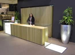 Standing Reception Desk by Office Table Modern Industrial Reception Desk Modern Reception