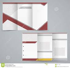 free tri fold business brochure templates tri fold business brochure template stock vector illustration of