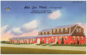 blue sea motel on cape cod route 6 2 miles from