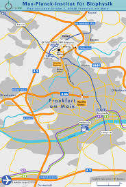 Frankfurt Airport Map Max Planck Institute Of Biophysics How To Reach Us Www