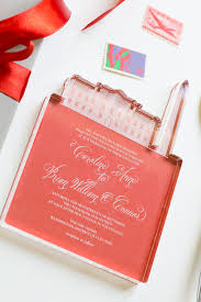 Cool Wedding Invitations Cool Acrylic Invitation U2014creating Unique Wedding Invitations Pomp