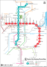 Maryland Metro Map by Subway Kyoto Metro Map Japan