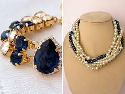 navy jewelry which color jewelry goes with blue dresses everafterguide