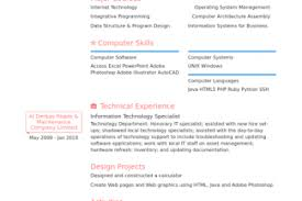Technical Support Specialist Resume Sample by Resume Templates Behavioral Specialist Visual Merchandising Cover
