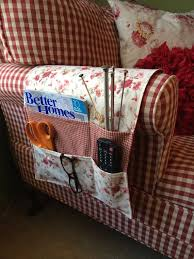 Armchair Organizers Bedside Caddy Organizer Remote Holder By Thecraftiestcoop For
