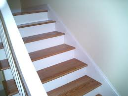 Stairs With Open Risers by Open Hardwood Stair Treads To Use Hardwood Stair Treads