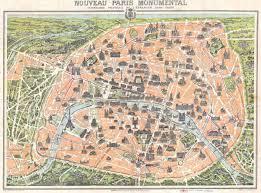 Map Of Paris France by City Of Light Paris 1900 1950 Philharmonia Orchestra