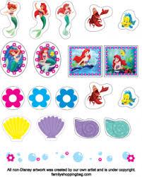 stickers mermaid mermaid stickers free printable