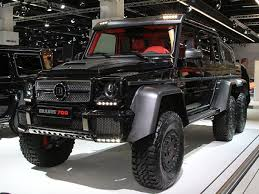 mercedes 6x6 truck brabus b63 s because the mercedes g63 amg 6x6 wasn t