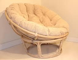 round wicker chairs with cushion round designs
