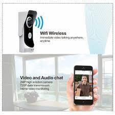 wireless smart peephole camera wifi video visual door phone