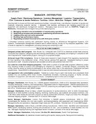 Logistics Manager Resume Sample by 100 Supply Chain Project Manager Resume Logistics Manager