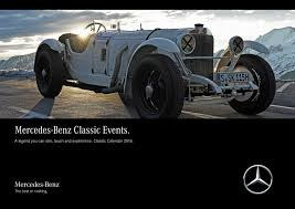 mercedes benz classic mercedes benz classic 2018 calendar a legend you can see touch