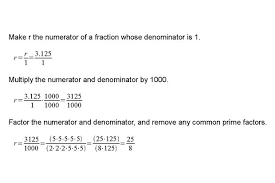 decimal to fraction 12 steps with pictures