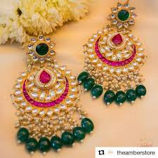 Buy Kundan Embellished Dangler Earrings 425 Best Jewellery Jewelry Ethnic Jewellery Images On Pinterest