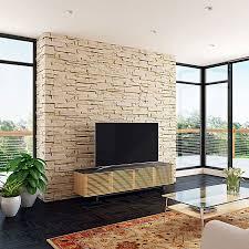 bdi corridor oak low modern tv stand eurway furniture