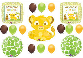 lion king baby shower supplies lion king welcome one baby shower party
