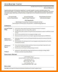 Accounts Receivable And Payable Resume 9 Account Payable Resume Mla Cover Page