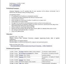 Openoffice Resume Template Open Office Resume Template Resume Templates For Open Office