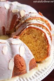 banana pudding bundt cake with white chocolate ganache the