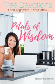 Seeking Free Series Petals Of Wisdom Blossom In Faith