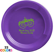 personalized mardi gras personalized mardi gras plates personalized mardi gras products