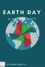 earth day pinwheels pinwheel craft earth and craft
