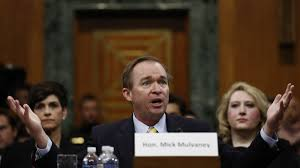mick mulvaney in omb confirmation hearing answers crowd size