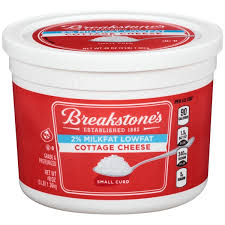 Cottage Cheese Singles by Breakstone U0027s Small Curd Lowfat Cottage Cheese From Costco Instacart