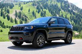 black jeep 2017 2017 jeep grand cherokee trailhawk black 5 7l v8 hemi panoramic