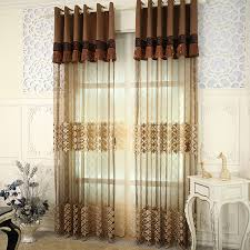 Leopard Curtains Luxurious Colored Sheer Curtains Make You Surprised
