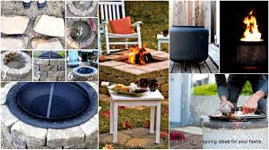 Ideas For Fire Pits In Backyard by 39 Easy To Do Diy Fire Pit Ideas Homesthetics Inspiring Ideas