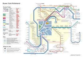 London Bus Map Find Us Duke Street Church