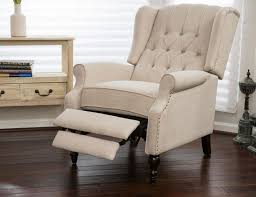 Wingback Recliners Chairs Living Room Furniture Club Chairs For Living Room Chair Recliner Wingback Tufted