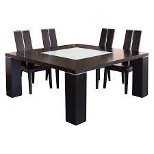 jordan square extension dining table wenge hayneedle