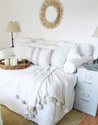 sofa style daybeds love how annie took a queen mattress stuffed