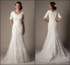modest custom 2015 a line wedding dresses winter bridal gown v