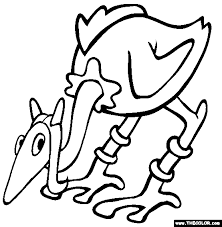 coloring pages starting letter