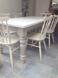 Distressed White Round Dining Table Gallery Also Washed Kitchen - Distressed white kitchen table
