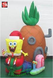gemmy airblown mixed media spongebob squarepants