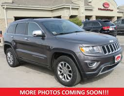 jeep grand cherokee limited 2014 2014 used jeep grand cherokee limited 4x4 18 alloy wheels heated