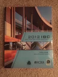 2012 ibc structural seismic design manual volume 1 code