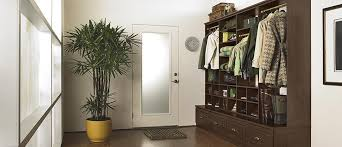 Entryway Cabinet With Doors Entryway Cabinet Storage Organization Solutions California Closets