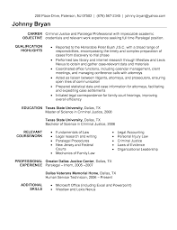Objective Goal For Resume Brilliant Ideas Of Sample Entry Level Paralegal Resume With
