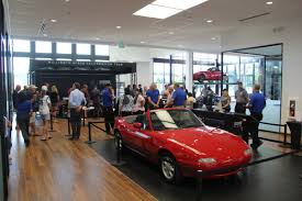 miata dealership mazda marks a milestone the one millionth miata tour txgarage