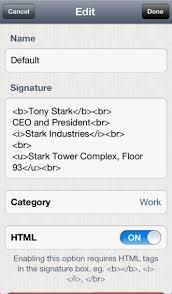 quick signature multiple email signatures on the app store