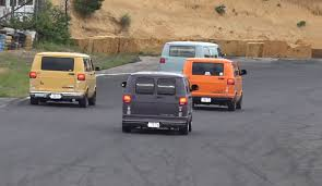 dodge van crazy dodge van race at the ebisu circuit