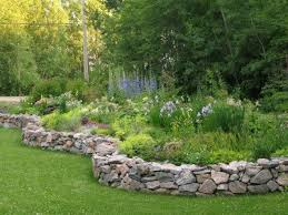 Raised Flower Bed Corners - best 25 stone raised beds ideas on pinterest potager garden