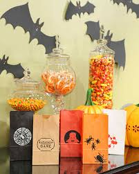 Halloween Gift Baskets For Adults by Halloween Treat Bags And Favors Martha Stewart