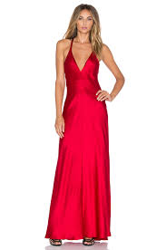 Amanda Uprichard X Revolve Ariana Maxi Dress In Red Lyst
